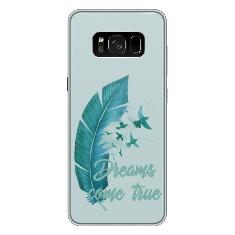 Чехол для Samsung Galaxy S8 Plus силиконовый Printio Dreams come true чехол для samsung galaxy s8 plus силиконовый printio love space