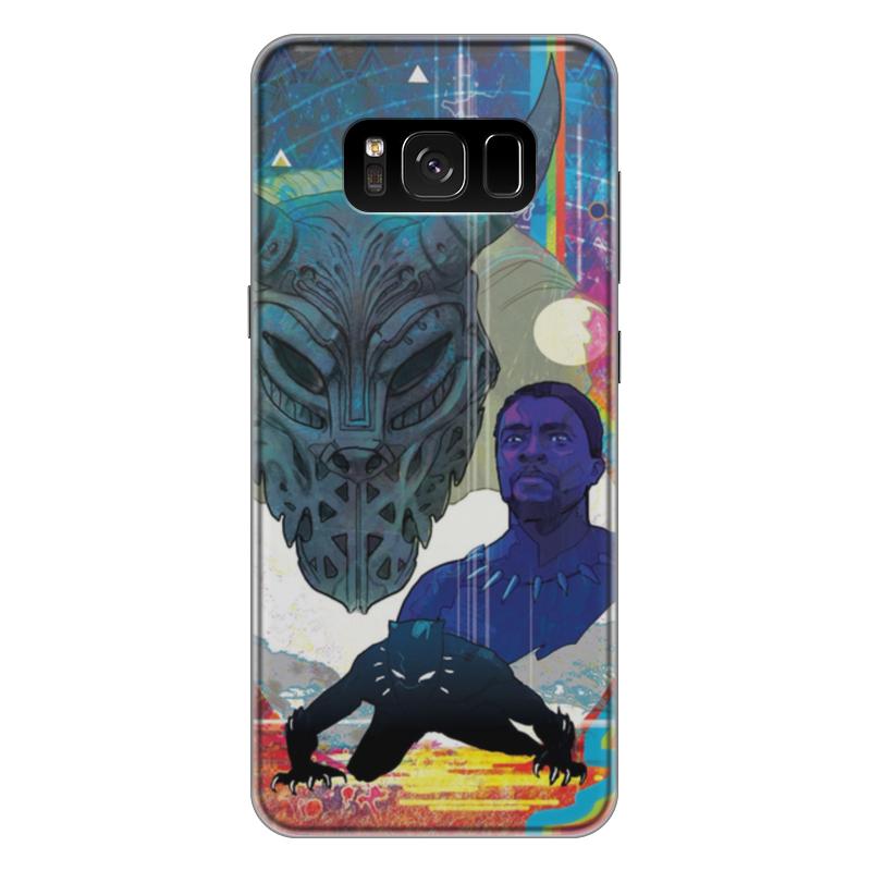 Чехол для Samsung Galaxy S8 Plus силиконовый Printio Черная пантера чехол для samsung galaxy s8 plus силиконовый printio танос
