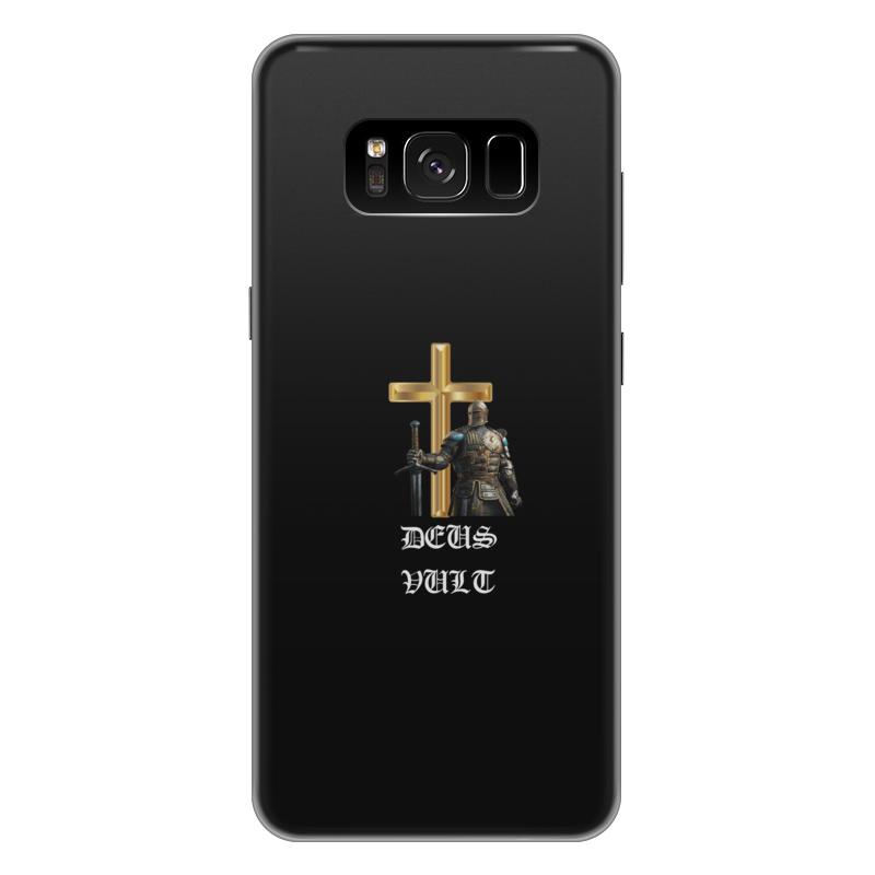 Чехол для Samsung Galaxy S8 Plus силиконовый Printio Deus vult. крестоносцы чехол для samsung galaxy s8 plus силиконовый printio love space
