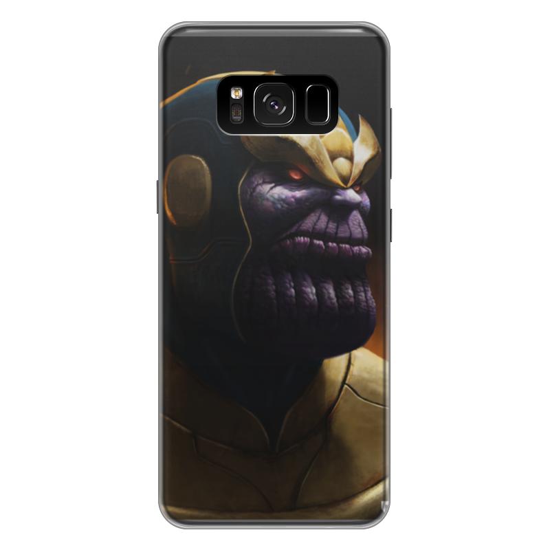 Чехол для Samsung Galaxy S8 Plus силиконовый Printio Танос чехол для samsung galaxy s8 силиконовый printio танос
