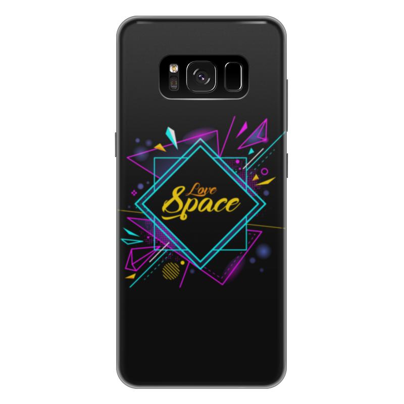 Чехол для Samsung Galaxy S8 Plus силиконовый Printio Love space чехол для samsung galaxy s8 plus силиконовый printio love space