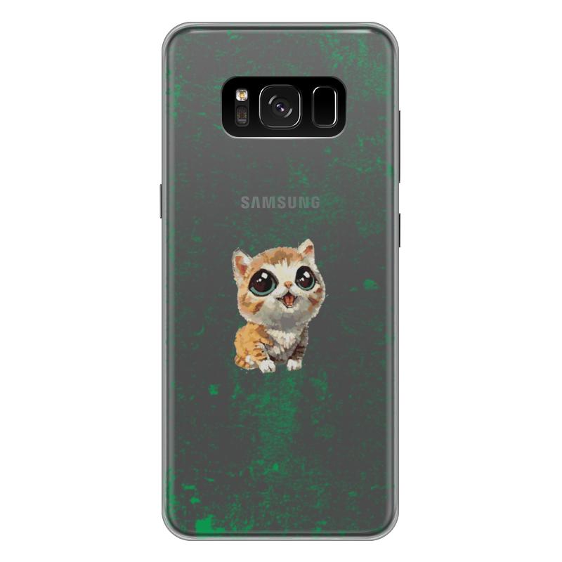 Чехол для Samsung Galaxy S8 Plus силиконовый Printio Мяу! мяу! чехол для samsung galaxy s8 plus силиконовый printio танос