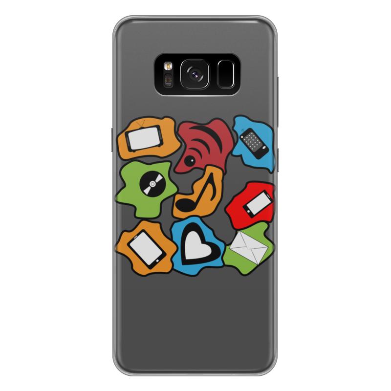 Чехол для Samsung Galaxy S8 Plus силиконовый Printio Современные гаджеты чехол для samsung galaxy s8 plus силиконовый printio танос
