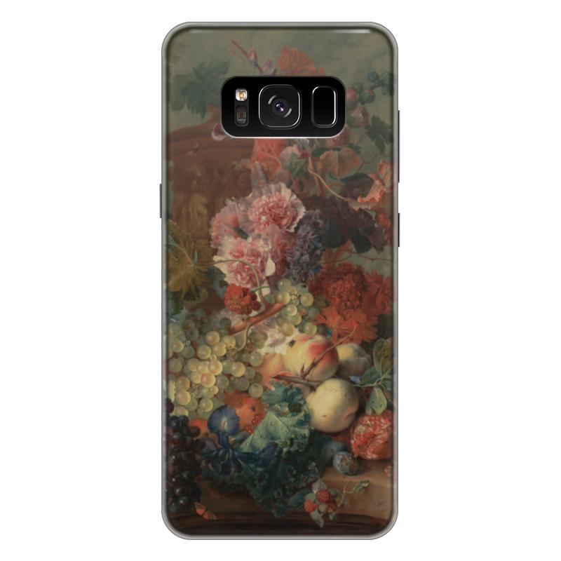 Чехол для Samsung Galaxy S8 Plus силиконовый Printio Цветы (ян ван хёйсум) ян ван хейсум