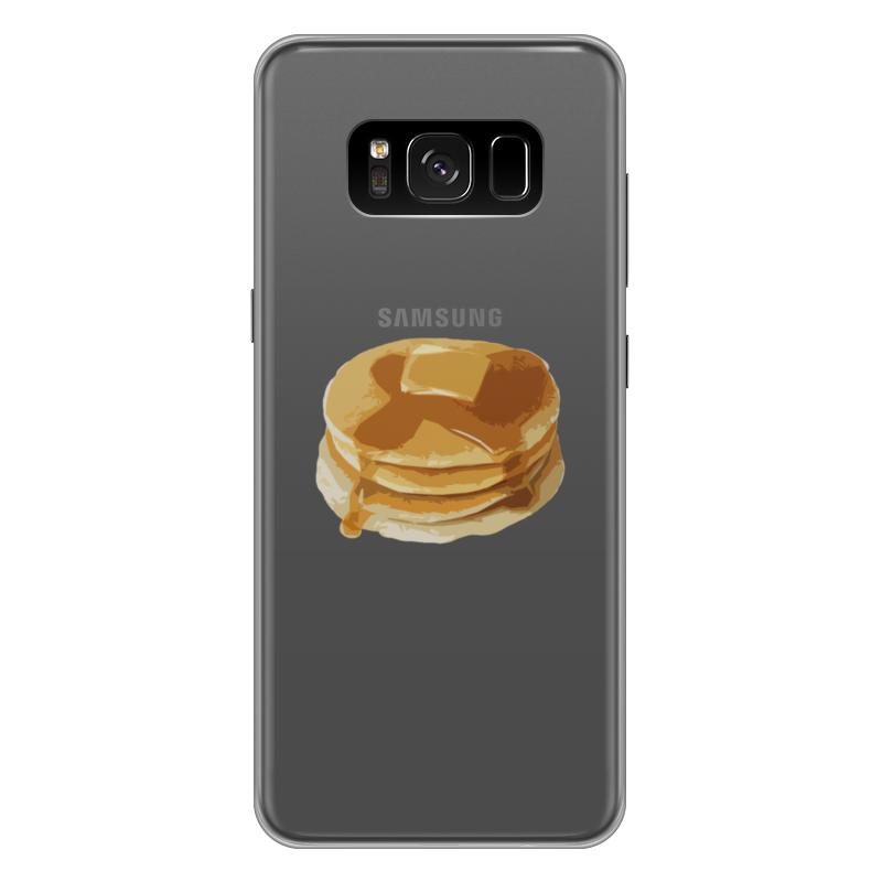 Чехол для Samsung Galaxy S8 Plus силиконовый Printio Блины с маслом чехол для samsung galaxy s8 plus силиконовый printio love space