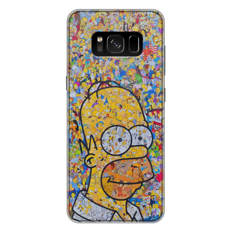 Чехол для Samsung Galaxy S8 Plus силиконовый Printio Симпсоны чехол для samsung galaxy s8 plus силиконовый printio  nasa
