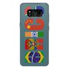"""Чехол для Samsung Galaxy S8 Plus силиконовый """"BRICS - БРИКС"""" - россия, китай, индия, бразилия, юар"""