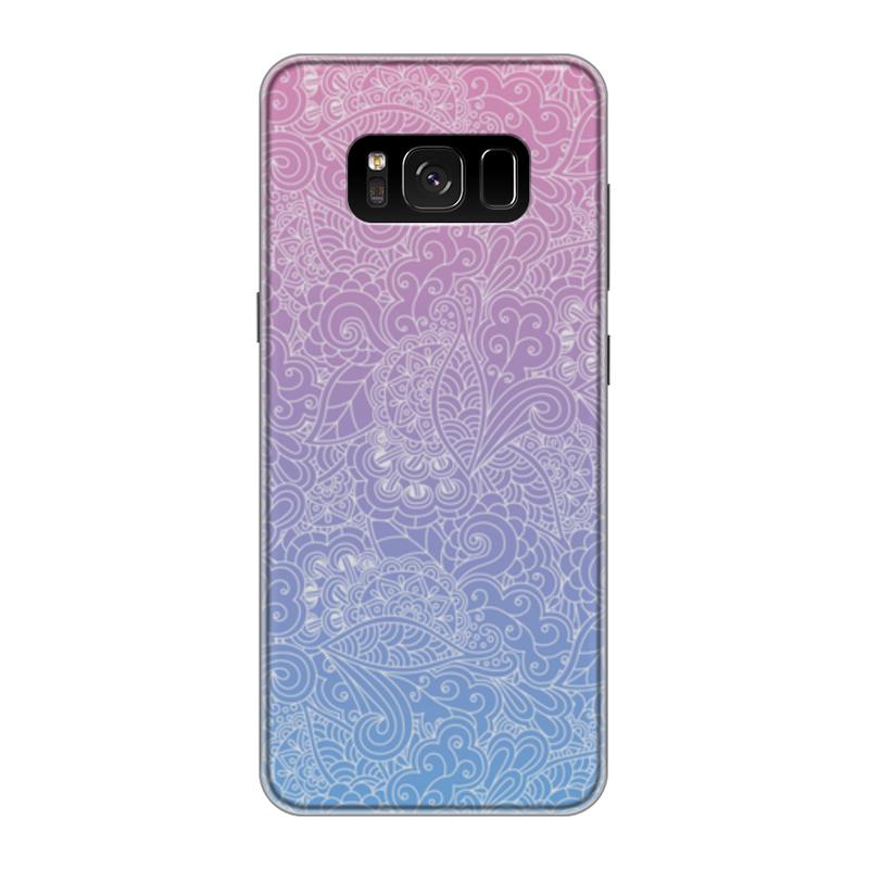 Чехол для Samsung Galaxy S8 силиконовый Printio Градиентный узор чехол для samsung galaxy s8 силиконовый printio танос