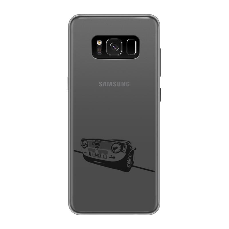 Чехол для Samsung Galaxy S8 силиконовый Printio Retro alfa romeo racing наклейки tony 2 74 alfa romeo mito 147 156 159 166 giulietta gt