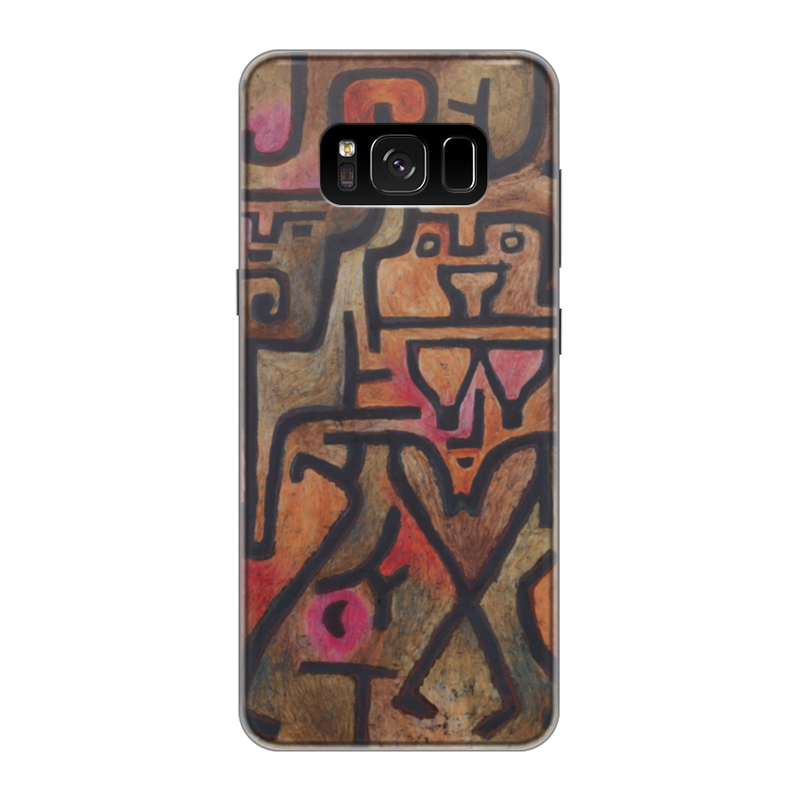 Чехол для Samsung Galaxy S8 силиконовый Printio Лесные ведьмы (пауль клее) чехол для samsung galaxy s5 printio лесные ведьмы пауль клее