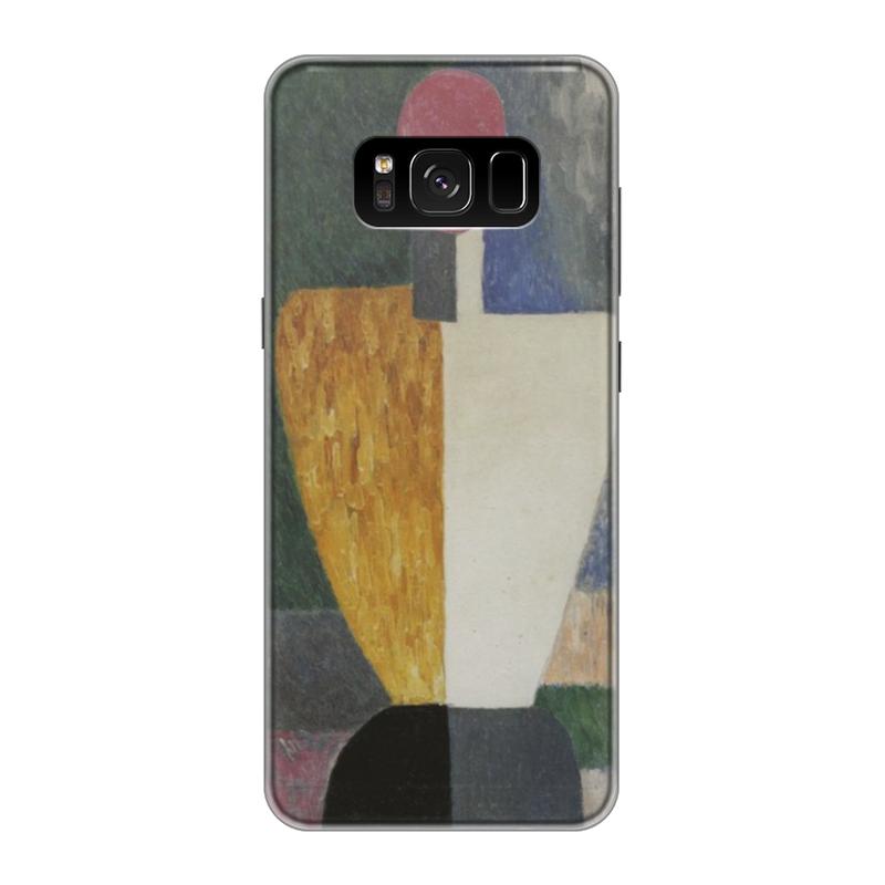 Чехол для Samsung Galaxy S8 силиконовый Printio Торс (фигура с розовым лицом) (малевич) чехол для samsung galaxy s5 printio торс фигура с розовым лицом малевич