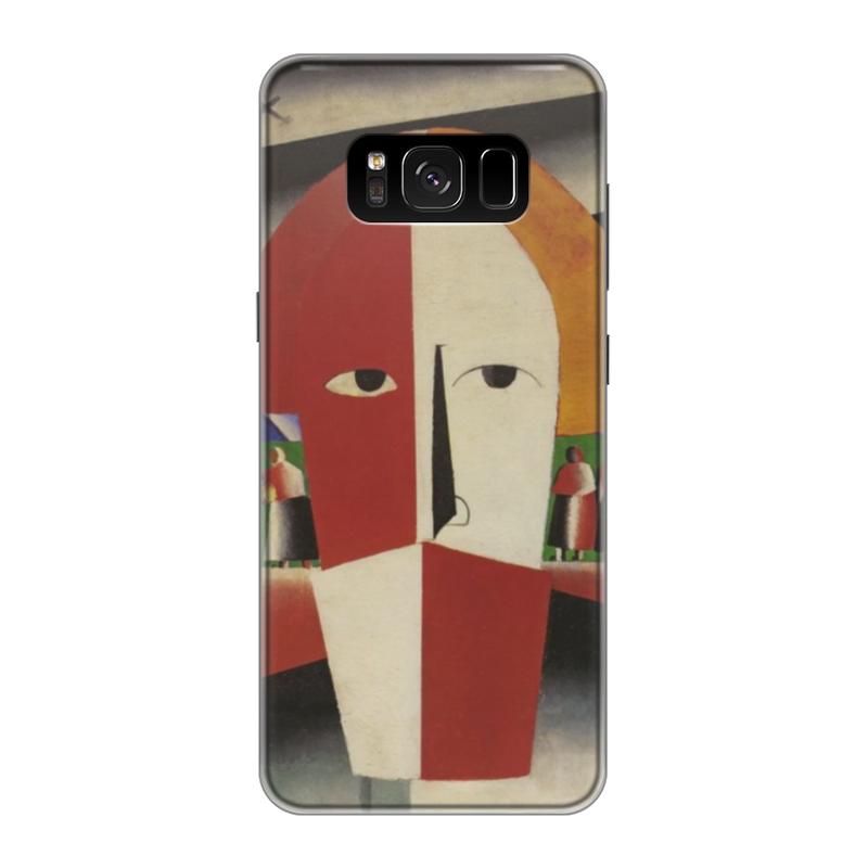 Чехол для Samsung Galaxy S8 силиконовый Printio Голова крестьянина (казимир малевич)