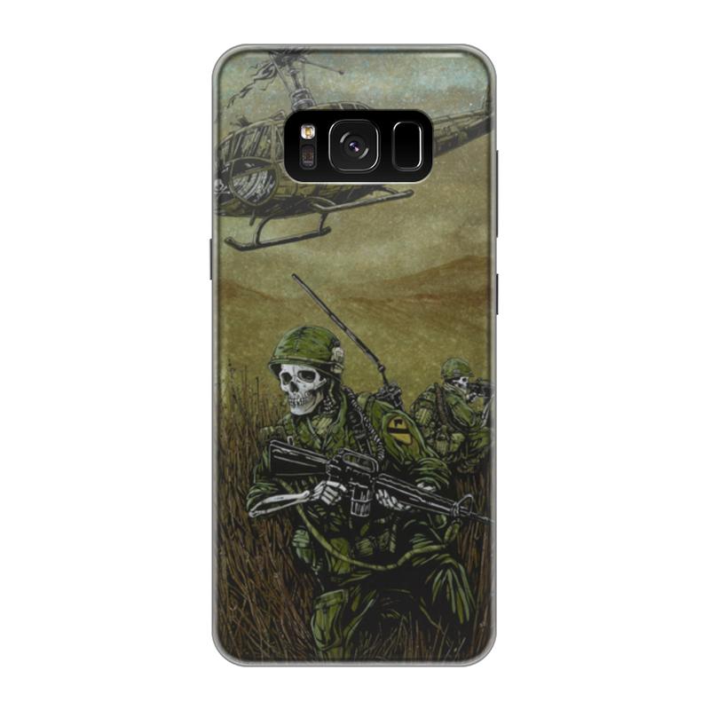 Чехол для Samsung Galaxy S8 силиконовый Printio Война чехол для samsung galaxy s8 plus силиконовый printio война