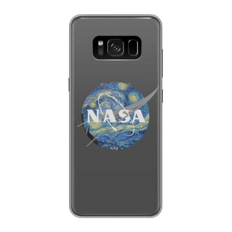 Чехол для Samsung Galaxy S8 силиконовый Printio /nasa чехол для samsung galaxy s8 plus силиконовый printio  nasa