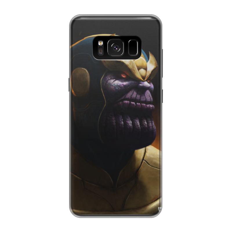 Чехол для Samsung Galaxy S8 силиконовый Printio Танос чехол для samsung galaxy s8 силиконовый printio танос