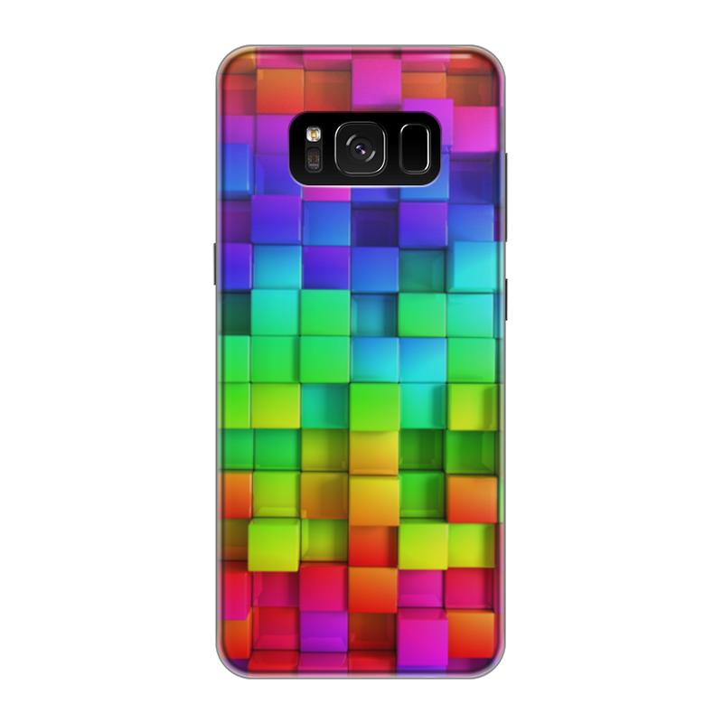 Чехол для Samsung Galaxy S8 силиконовый Printio Яркие краски чехол для samsung galaxy s8 силиконовый printio сталкер