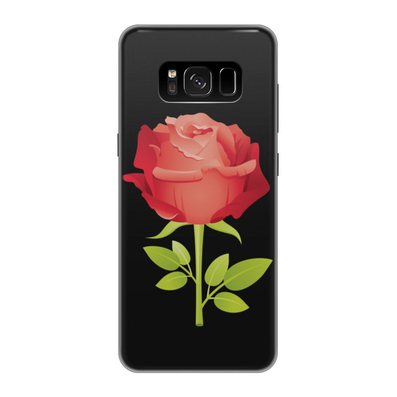 Чехол для Samsung Galaxy S8 силиконовый Printio Розочка чехол для samsung galaxy s8 силиконовый printio сталкер