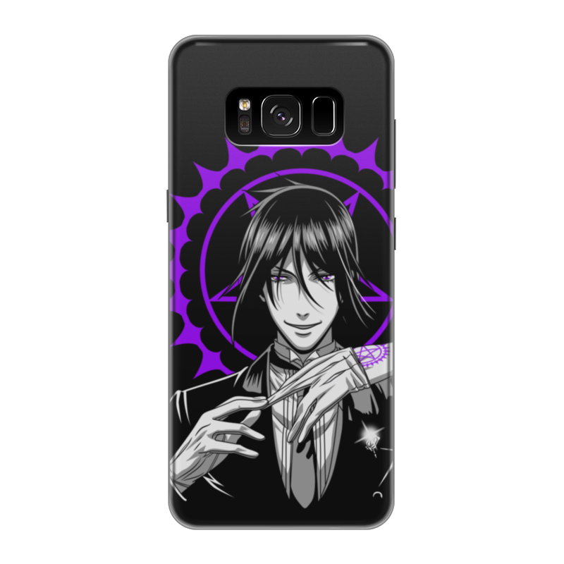 Чехол для Samsung Galaxy S8 силиконовый Printio Тёмный дворецкий чехол для samsung galaxy s8 силиконовый printio танос