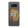 """Чехол для Samsung Galaxy S8 силиконовый """"Без ума от цветов"""" - любовь, девушка, цветы, сердца, блондинка"""