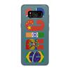 """Чехол для Samsung Galaxy S8 силиконовый """"BRICS - БРИКС"""" - россия, китай, индия, бразилия, юар"""