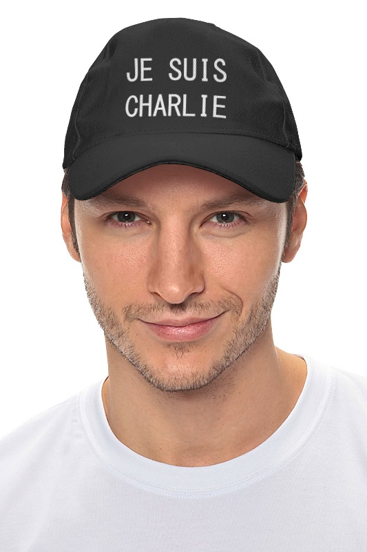 Кепка Printio Je suis charlie...