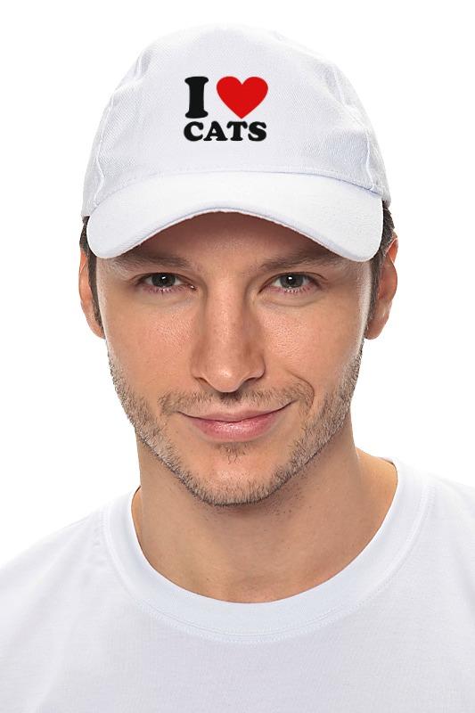 Кепка Printio I love cats кепка printio i love cats