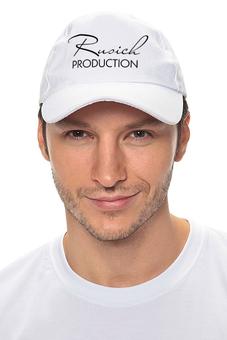 "Кепка ""Rusich PRODUCTION"" - студия, киностудия, rus14, rusich production"