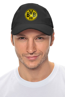 "Кепка ""Borussia Dortmund"" - футбол, боруссия, футбольный клуб, дортмунд"