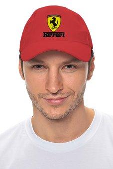 """Кепка """"Ferrari"""" - auto, ferrari, formula 1, феррари, f1"""