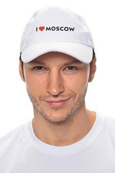 "Кепка ""Я люблю Москву"" - люблюмоскву"