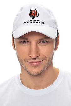 "Кепка ""Cincinnati Bengals"" - тигр, nfl, американский футбол, cincinnati bengals, цинциннати бенгалс"