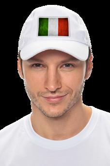 """Кепка """"Италия - классическая бейсболка"""" - италия, популярные, мужская, классика, женская, бейсболка, в подарок, актуально, italy, italia"""