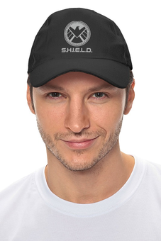 "Кепка ""S.H.I.E.L.D "" - marvel, щит, shield"