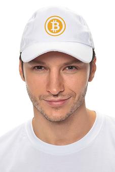 "Кепка ""оранжевый биткоин"" - bitcoin шапка, bitcoin shop, крипто шапка, одежда биткоин, крипто одежда"