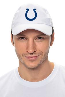 """Кепка """"Indianapolis Colts"""" - удача, подкова, nfl, американский футбол, indianapolis colts"""