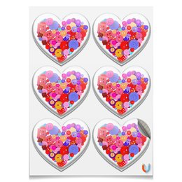 """Магниты сердца """"День всех влюбленных"""" - любовь, день святого валентина, валентинка, i love you, день влюбленных"""