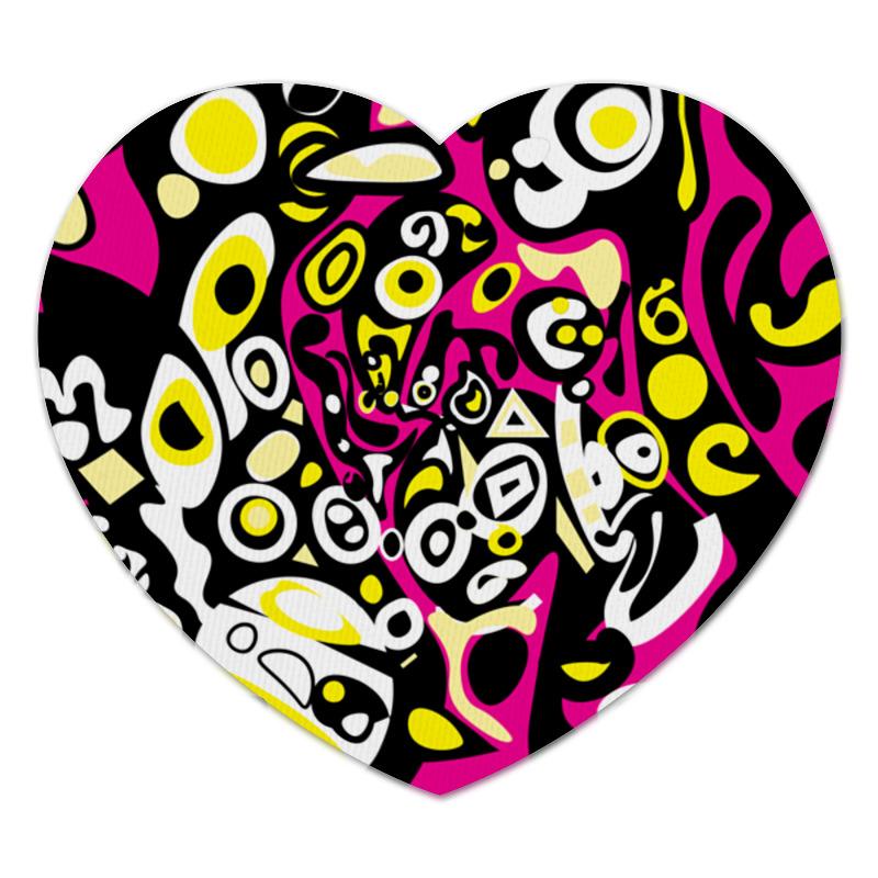 Коврик для мышки (сердце) Printio Iommm50233