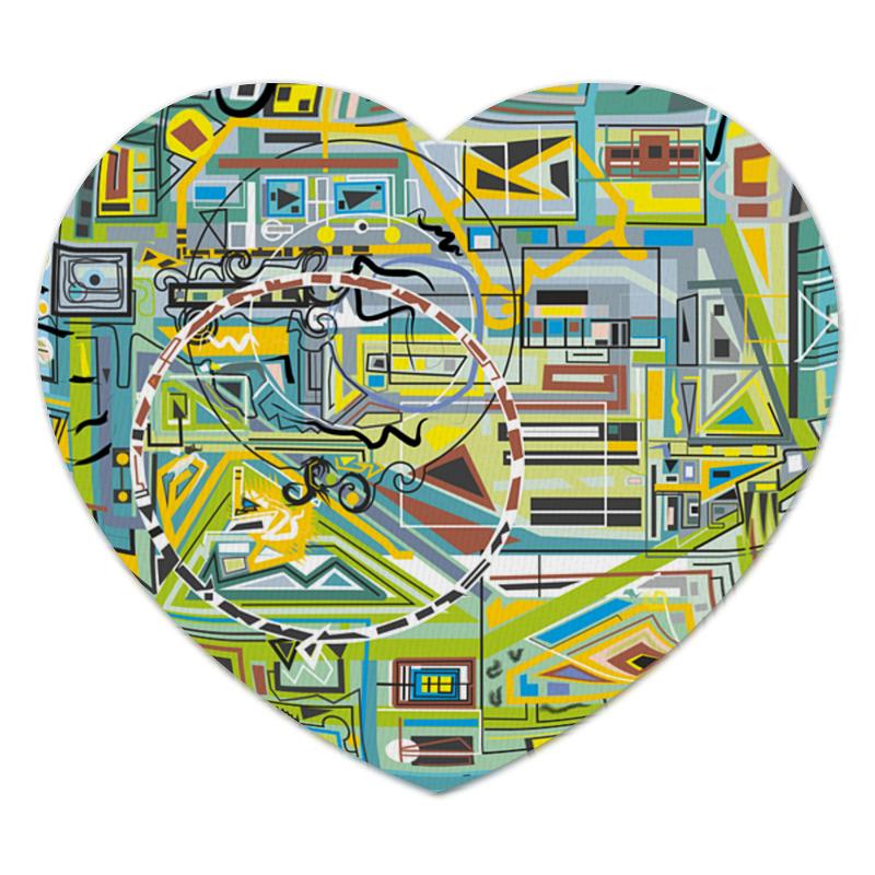 Коврик для мышки (сердце) Printio Березка ансамбль березка