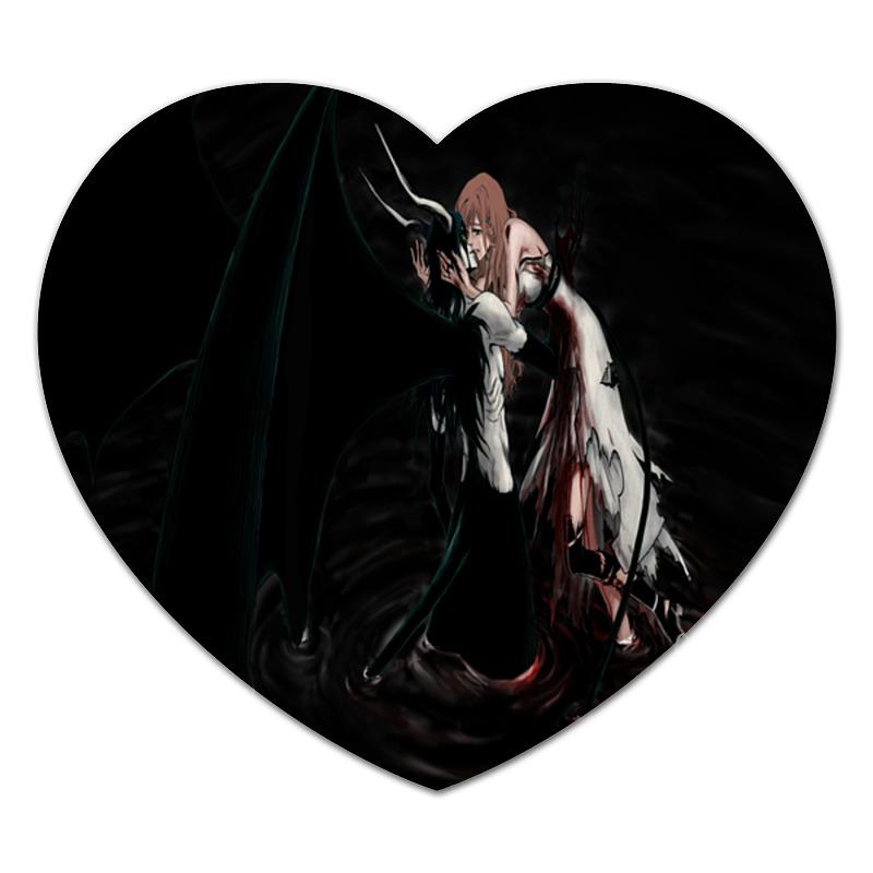 Коврик для мышки (сердце) Printio Любовь аниме