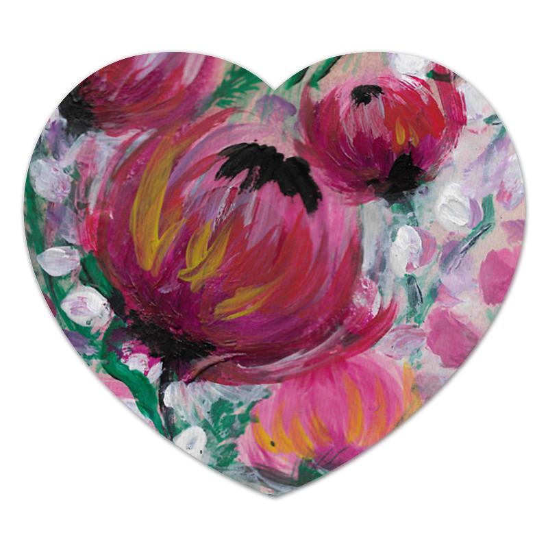 Коврик для мышки (сердце) Printio Полевые цветы коврик для мышки сердце printio нежные цветы