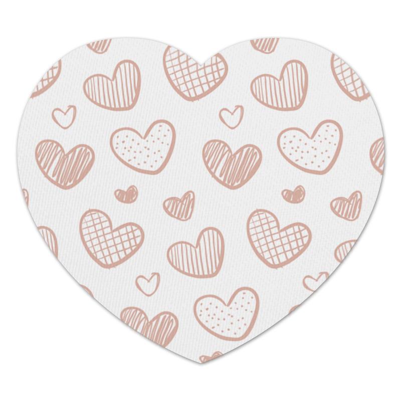 Коврик для мышки (сердце) Printio Хартс коврик для мышки сердце printio дудлы