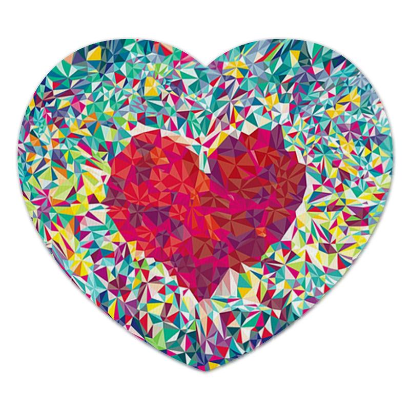 Коврик для мышки (сердце) Printio Сердце коврик для мышки сердце printio октябрьская революция