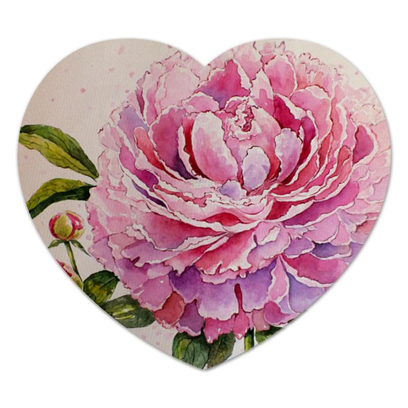 Printio Нежный пион коврик для мышки сердце printio нежные цветы
