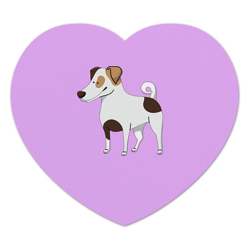 Коврик для мышки (сердце) Printio Джек рассел.собака джек восьмеркин американец 2 dvd