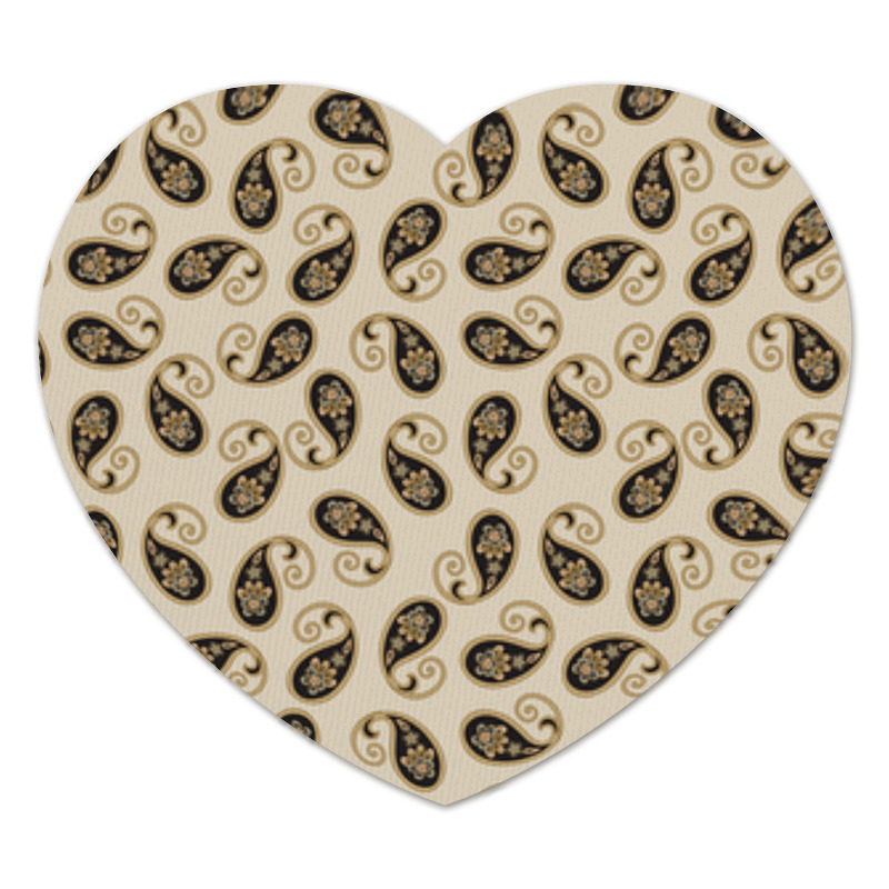 Коврик для мышки (сердце) Пейсли (Классика)