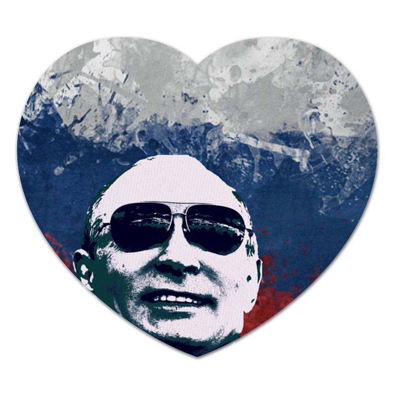 Коврик для мышки (сердце) Путин