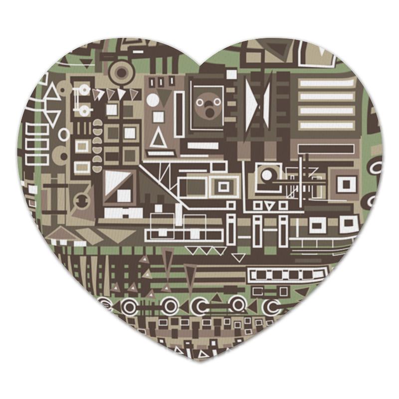 Коврик для мышки (сердце) Printio Fg345gh