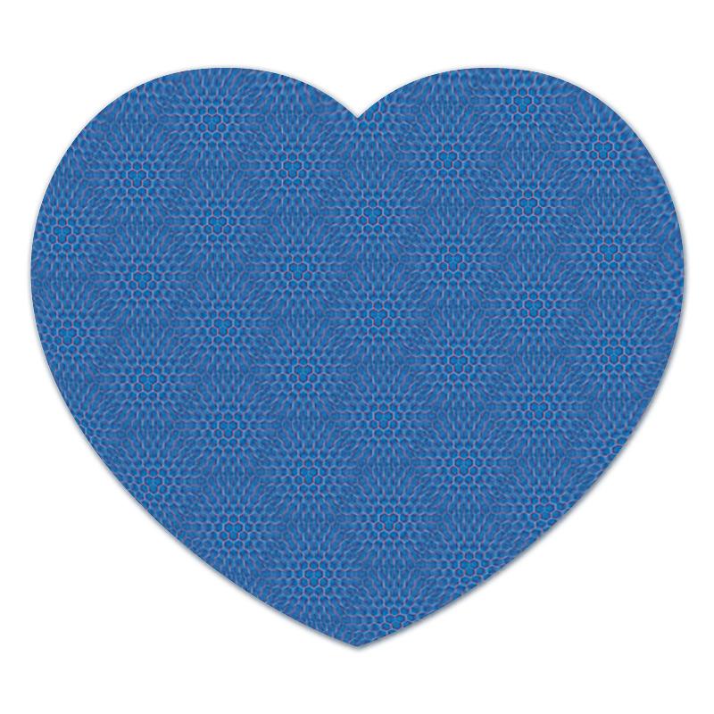 Коврик для мышки (сердце) Printio Геометрия соты коврик для мыши pcpet colorfull nature rgm02 голубой с рисунком 648600