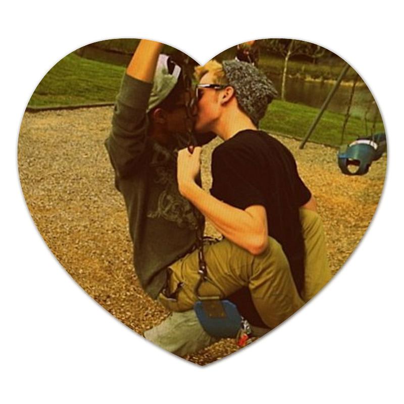 Коврик для мышки (сердце) Printio Просто любовь