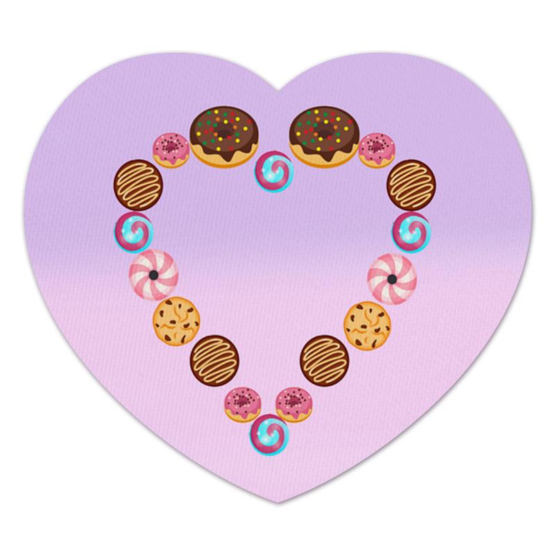 Коврик для мышки (сердце) Printio Ladies heart